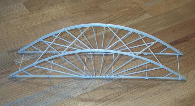 Balsa And Basswood Arch Bridge Garrett 39 S Bridges