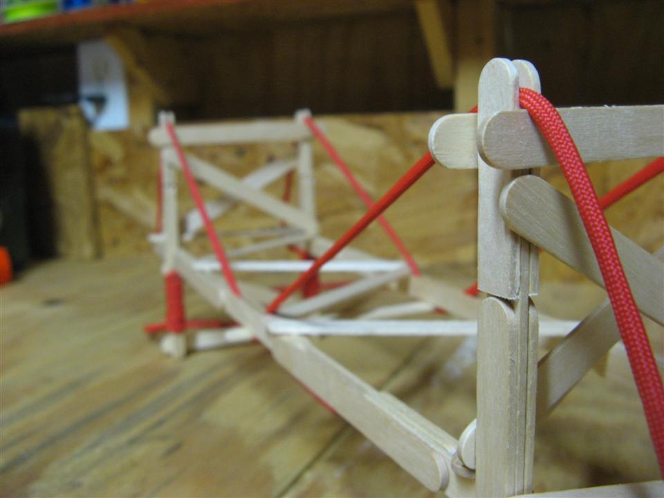 new popsicle stick suspension bridge garrett s bridges