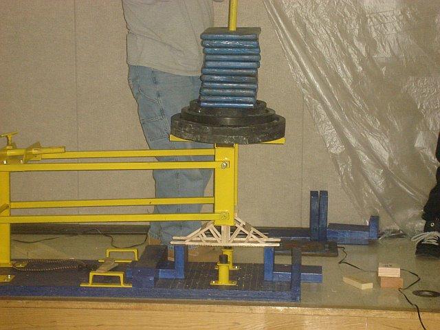 Popsicle Bridge Holds 500 Lbs Garrett S Bridges Resources To Help You Build A Model Bridge