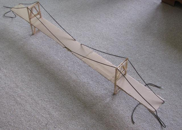 popsicle stick suspension bridge garrett s bridges