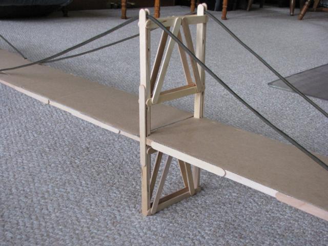 Popsicle Stick Suspension Bridge Garretts Bridges