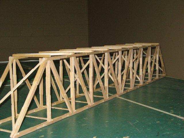 Prairie Popsicle Stick Bridge Garrett 39 S Bridges