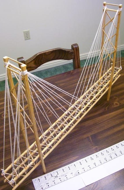 Toothpick Suspension Bridge Garretts Bridges